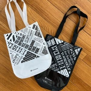 lululemon bags //  set of two